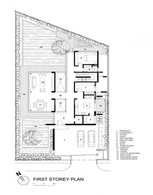 plano-casa-Travertine-Wallflower-Architecture-Design