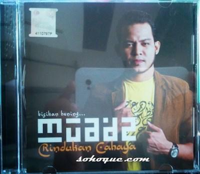 Album Rindukan Cahaya Daripada Muadz Dzulkefly Best - depan
