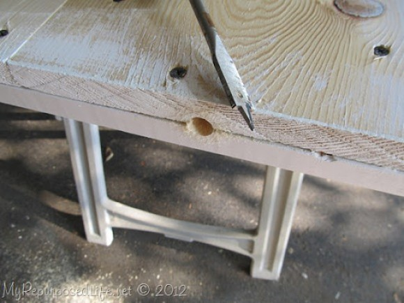 Installing door Hardware (barn door)