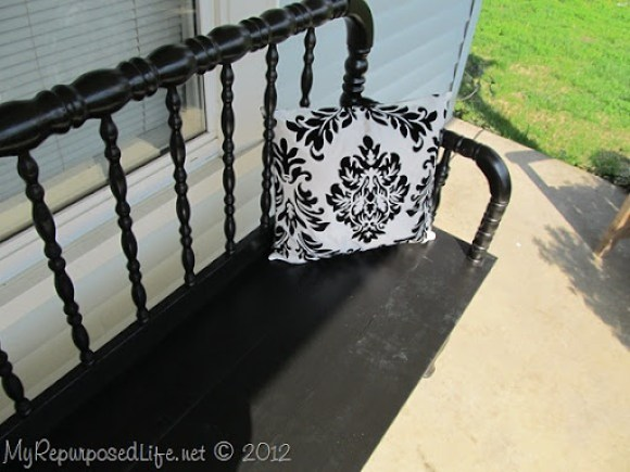 Jenny Lind headboard bench (14)