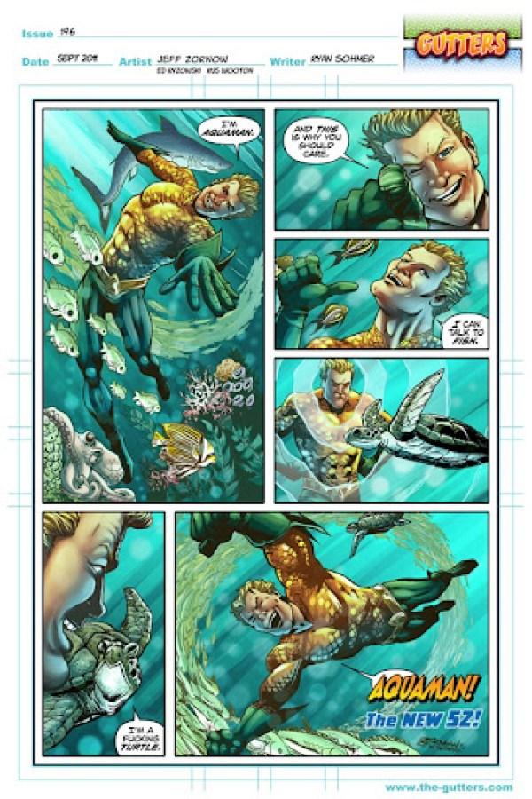 Aquaman Gutters