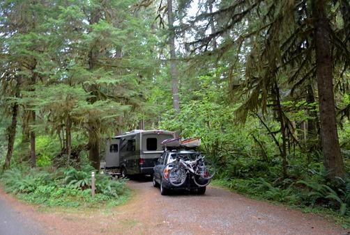 Delta Campground space 21