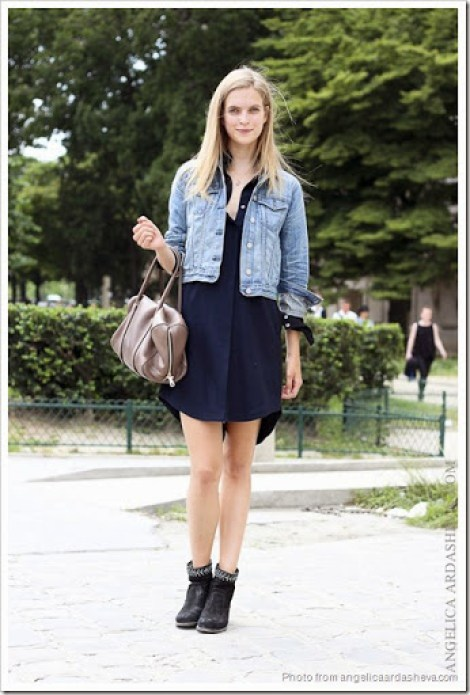 little-black-dress-with-denim-jacket
