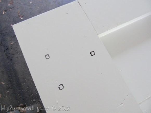 Installing door Hardware (barn door) (9)