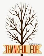 Craftionary - Thankful Tree