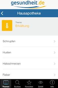 Hausapotheke screenshot 2