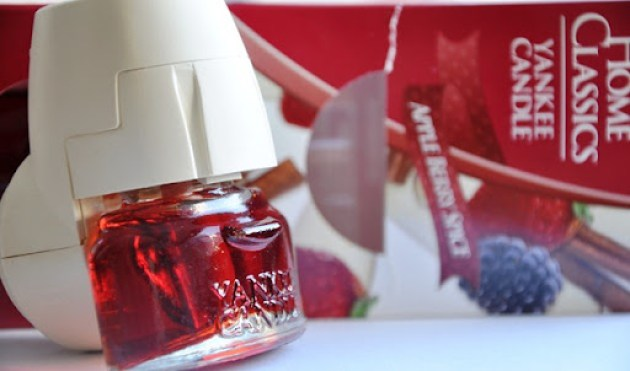 apple berry spice yankee candle