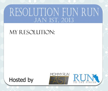 Resolution Fun Run