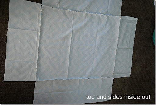 top and sides inside out