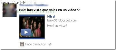 Gusano o Virus? Sales en un video en Facebook ?