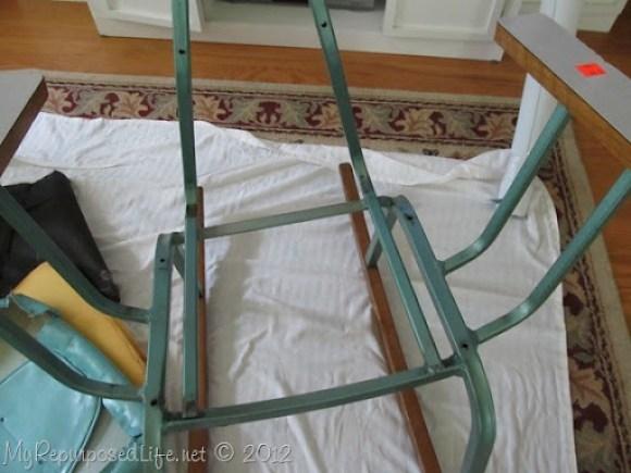 vintage metal rocking chair (13)