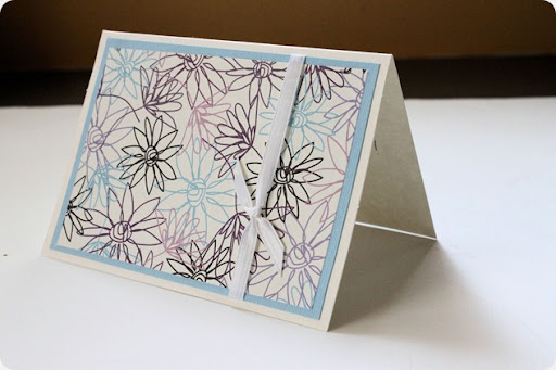 jennifer hand made card