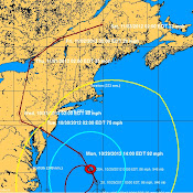 Hurricane Sandy position info