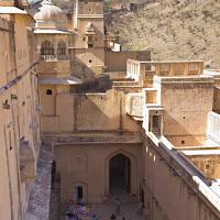 inner courtyard - Canon T2i