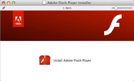 Adobe flash installer