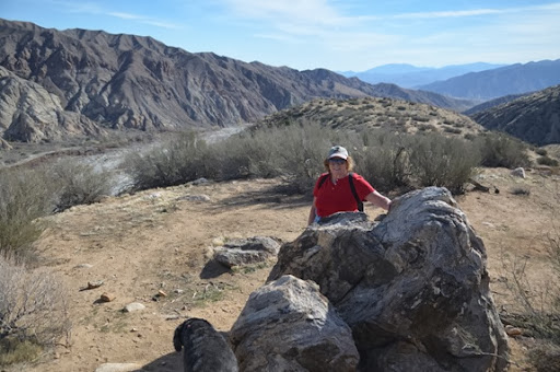 Mo on the Whitewater Canyon Loop Trail