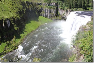 Upper Mesa Falls, Henry's Fork River, near Ashton, ID