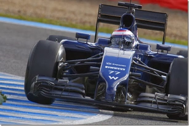 2014 F1 Pre Season Test 1 - Day 2Circuito de Jerez, Jerez, Spain.Wednesday 29 January 2014.Valterri Bottas, Williams FW36 Mercedes.World Copyright: Alastair Staley/Williams F1.ref: Digital Image _A8C8673