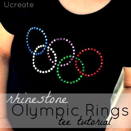 Olympic Rhinestone Shirt