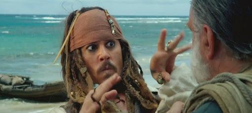 7 - Piratas do Caribe - Navegando em Águas Misteriosas