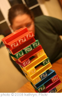 'uno jenga. ' photo (c) 2008, kathryn - license: http://creativecommons.org/licenses/by/2.0/