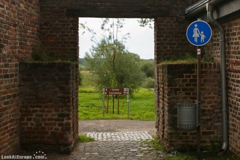 LookAtEurope.com | Европейские фото путешествия. Германия, Дормаген. Крепость-таможня Цонс | Germany, Dormagen Zons