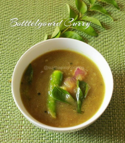 Botttelgourd Curry1