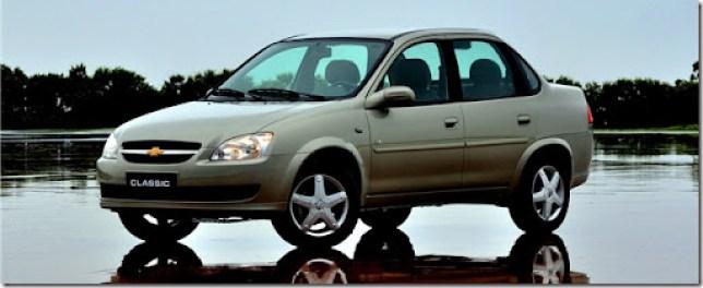 O Classic, o sedã mais vendido da história da Chevrolet, registrou no último mês de maio, o melhor mês de vendas de 2011