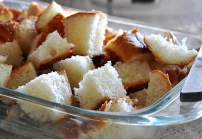 pumpkin brioche bread pudding 025