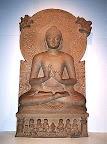 『鹿野苑笈多王朝的佛像』印度佛教之旅-慕爾甘陀哈庫提寺院Mulgandha Kuti Vihara