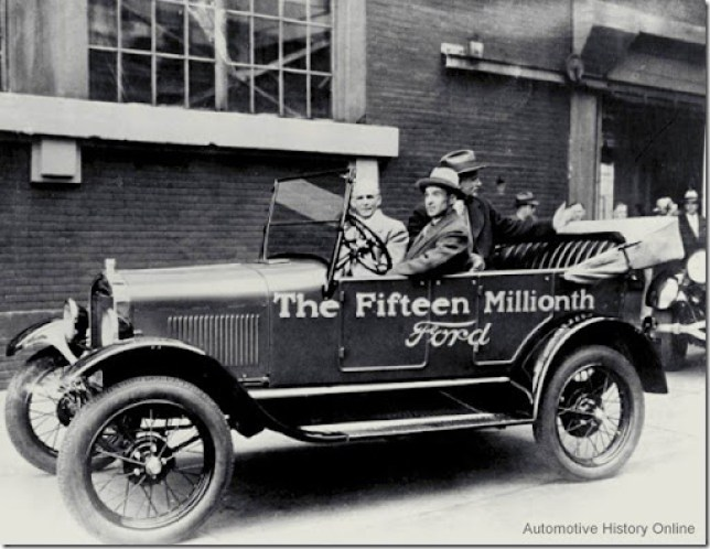 Ford T Fifteen Millionth