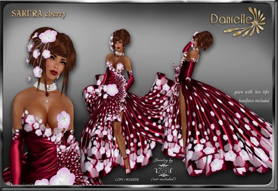 DANIELLE Sakura Cherry'