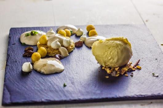 Dessert: Æble, timian, kastanje - Nytårsmenuen 2014 - Mikkel Bækgaards Madblog