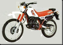 Yamaha DT200R 84  1