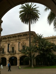 Spanish Baroque aka 1700 architecture for the California Panama Exposition in 1915