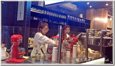 The Lab Nitrogen Gelato @ Melbourne CBD