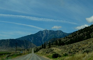 Highway 3 west from Osoyoos