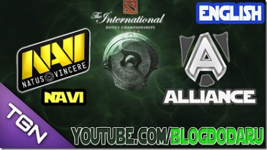 Dota 2: Navi x Alliance - Final 2013 - English Commentary