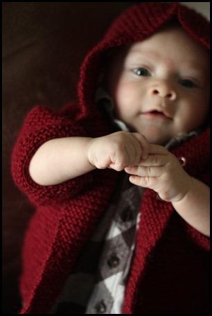 garter baby coat with hood 4