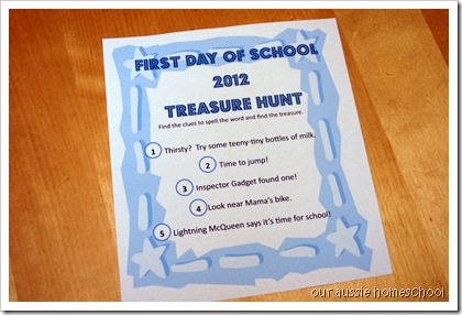 Treasure Hunt 2012