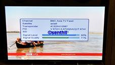 Goood News....BBC Tamil TV Newsrunning now on Asiasat5@100.5 1