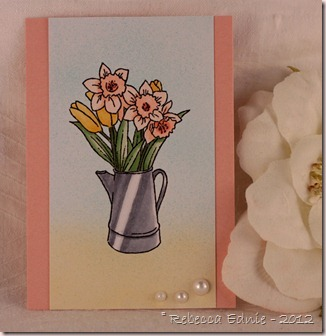 daffodils ATC
