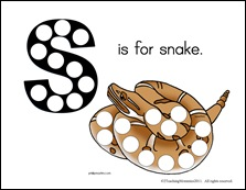 S is for Snake