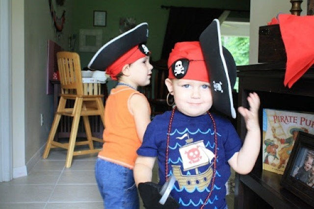 Pirate Party Inspiration and Printables by Poofy Cheeks