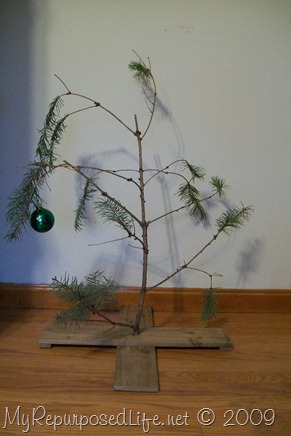 do it yourself Charlie Borwn Christmas tree