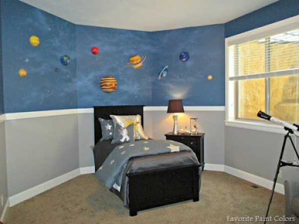 Bedroom paint colors ideas for kids bedrooms for Paint colors for kids bedrooms