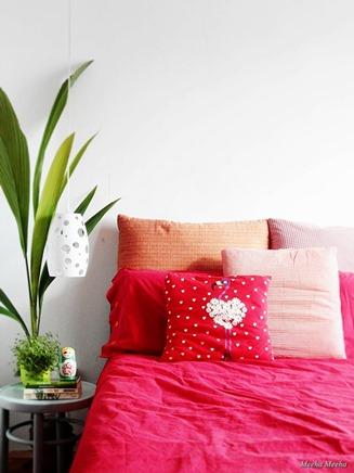 valentine tshirt pillow