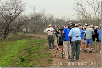 Serious birders, Santa Ana NWR