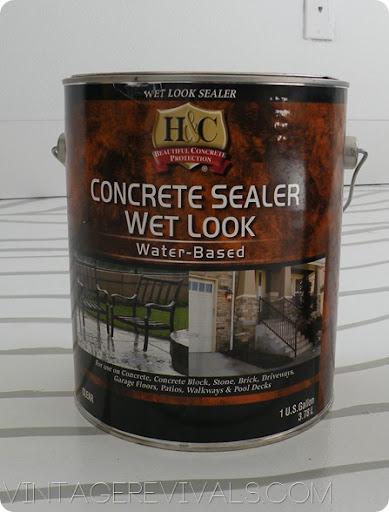 H And C Concrete Sealer