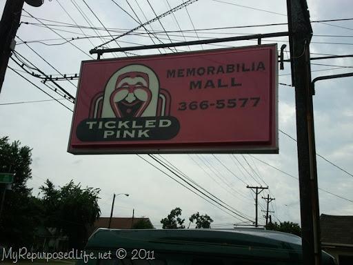 Tickled Pink memorabilia mall